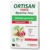 Ortis Ortisan  Forte Fruits & Fibres 12 Gels