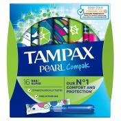 Tampax Pearl Compak Super 16τμχ