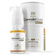 CannabiGold Balance 1000 mg (Natural CBD 500 mg + Natural CBDA 500 mg) 12ml