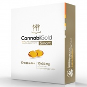 CannabiGold Smart Package 10mg Natural CBD x 10caps