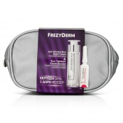 Frezyderm Promo Pack Anti Wrinkle Rich Night Cream 50ml & Face Tightener Cream Booster 5ml με ΔΩΡΟ ένα Υπέροχο Νεσεσέρ