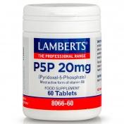 Lamberts P5P 20mg 60tabs