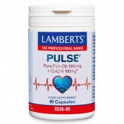 Lamberts Pulse Pure Fish Oil 1300mg + CoQ10 100mg 90caps
