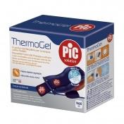 Pic Thermogel 10x26cm Μαξιλαράκι Πολλών Χρήσεων για Θεραπεία Θερμότητας & Ψύχους με ύφασμα & ελαστική λωρίδα