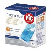Pic Thermogel 10x26cm Μαξιλαράκι Πολλών Χρήσεων για Θεραπεία Θερμότητας & Ψύχους με προστατευτική θήκη