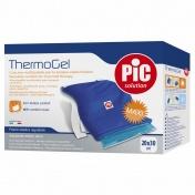 Pic Thermogel 20x30cm Μαξιλαράκι Πολλών Χρήσεων για Θεραπεία Θερμότητας & Ψύχους με ύφασμα & ελαστική λωρίδα