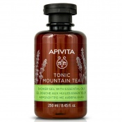 Apivita Tonic Mountain Tea Shower Gel με Αιθέρια Έλαια 250ml