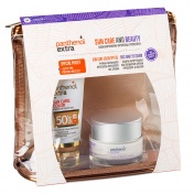 Panthenol Extra Promo Pack Sun Care & Beauty Sun Care Color SPF50 50ml & ΔΩΡΟ Face and Eye Cream 50ml σε Υπέροχο Νεσεσέρ
