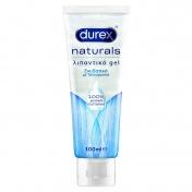 Durex Naturals Λιπαντικό Gel Ενυδατικό με Υαλουρονικό 100ml