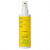Korres Sport Αντηλιακό Spray Σώματος Κίτρο SPF20 200ml