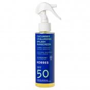 Korres Cucumber Hyaluronic Splash Sunscreen SPF50 150ml