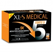 Omega Pharma Xl-S Medical Forte 5 180caps (Αγωγή 1 Μήνα)