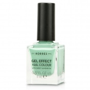 Korres Gel Effect Nail Colour Νο35 Mint Green 11ml