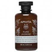 Apivita Pure Jasmine Αφρόλουτρο Με Αιθέρια Έλαια 250ml