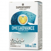Superfoods Omegadvance 500mg 30 Κάψουλες