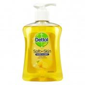 Dettol Soft on Skin Hard on Dirt Antibacterial Hand Wash με Λεμόνι 250ml