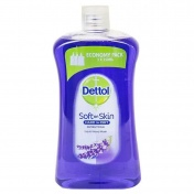 Dettol Soft on Skin Hard on Dirt Antibacterial Hand Wash με Λεβάντα Ανταλλακτικό 750ml