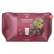 Apivita Apivita Promo Pack Wine Elixir Κρέμα Ημέρας Ελαφριάς Υφής 50ml και ΔΩΡΟ Cleansing Milk 50ml & Μάσκα Express Σταφύλι 2x8ml