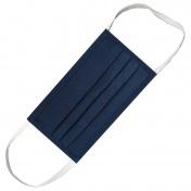 Hand M Μάσκα Πολλαπλών Χρήσεων Υφασμάτινη 100% Βαμβακερή 2 Στρώσεων Μπλε 1τμχ.