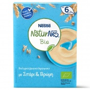 Nestle Naturnes Bio Βιολογικά Δημητριακά με Σιτάρι & Βρώμη 200gr