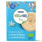 Nestle Naturnes Bio Βιολογικά Δημητριακά με Σιτάρι & Βρώμη και γεύση Βανίλια 200gr