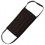 Hand M Μάσκα Πολλαπλών Χρήσεων Υφασμάτινη 100% Βαμβακερή 2 Στρώσεων Μαύρη 1τμχ.