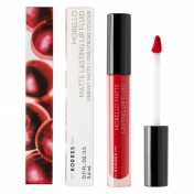 Korres Morello Matte Lasting Lip Fluid No52 Poppy Red 3,4ml