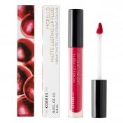 Korres Morello Matte Lasting Lip Fluid No27 Cranberry Sorbet 3,4ml