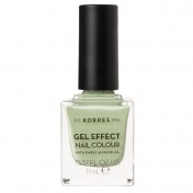 Korres Gel Effect Nail Colour No34 Crunchy Pistachioe 11ml
