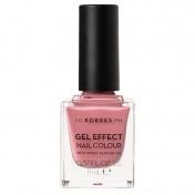 Korres Gel Effect Nail Colour No21 Bubblegum Pop 11ml