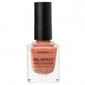 Korres Gel Effect Nail Colour No42 Peaches N Cream 11ml