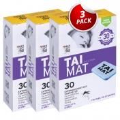 TAI Mat 30 Εντομοαπωθητικές Ταμπλέτες - Promo Pack 3 Τεμάχια