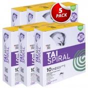 TAI Spiral (10 Εντομοαπωθητικές Σπείρες + 2 Μεταλλικές Βάσεις) - Promo Pack 5 Τεμάχια