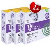 TAI Spiral (10 Εντομοαπωθητικές Σπείρες + 2 Μεταλλικές Βάσεις) - Promo Pack 3 Τεμάχια