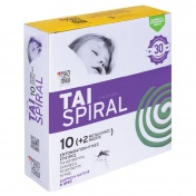 TAI Spiral (10 Εντομοαπωθητικές Σπείρες + 2 Μεταλλικές Βάσεις)