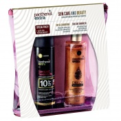 Panthenol Extra Promo Pack Sun Care & Beauty Dry Oil Shimmering 100ml & Sun Care Tanning Oil SPF10 150ml & ΔΩΡΟ Νεσεσέρ