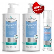 Pharmasept Promo Pack 2 τεμ. Hygienic Shower (2x1Lt) & ΔΩΡΟ Intim Care Foam Wash 200ml