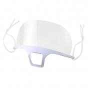 Techniplast Mini Προσωπίδα Μερικής Προστασίας Προσώπου Πολλαπλών Χρήσεων Λευκή