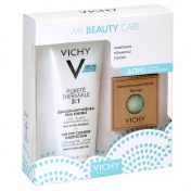 Vichy Promo Pack My Beauty Care Purete Thermale Demaquillant Integral 3 in 1 300ml & ΔΩΡΟ Natural Konjac Sponge