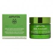 Apivita Bee Radiant Κρέμα-Gel Ελαφριάς Υφής για Σημάδια Γήρανσης & Ξεκούραστη Όψη 50ml