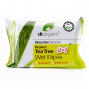 Dr.Organic Tea Tree Wet Wipes 20s