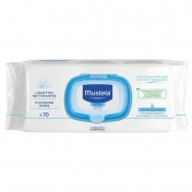 Mustela Dermo Soothing Wipes Delicately Fragnanced 70τμχ