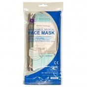 Μάσκα Προστασίας Προσώπου 3ply 10τμχ