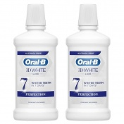 Oral B Oral B Στοματικό Διάλυμα 3D White Luxe 7 Days Perfection 500ml 1+1 ΔΩΡΟ