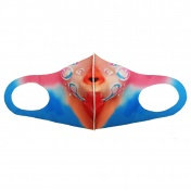 Fashion Mask Μάσκα Προστασίας Πολλαπλών Χρήσεων Πλενόμενη 129380