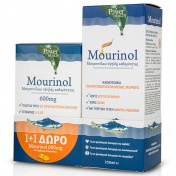 Power Health Promo Pack Mourinol 250ml & ΔΩΡΟ Mourinol 600mg 20caps