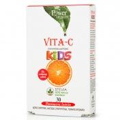 Power Health Vita-C For Kids με Stevia 30 Μασώμενα Δισκία