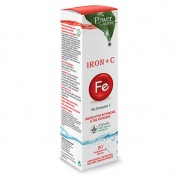 Power Health Iron Fe + C με Stevia 20 Eff.tabs