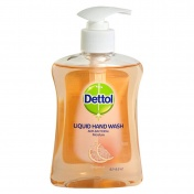 Dettol Soft on Skin Hard on Dirt Antibacterial Hand Wash Grapefruit 250ml