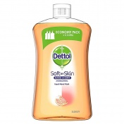 Dettol Soft on Skin Hard on Dirt Antibacterial Hand Wash Grapefruit Ανταλλακτικό 750ml